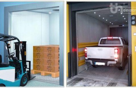 Kích thước thang máy tải hàng tiêu chuẩn - Kích thước thang máy nâng hàng