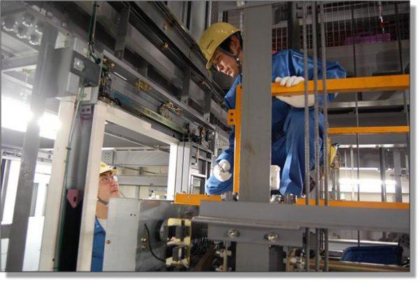 Các công ty, nhà máy sản xuất thang máy đào tạo học viên theo quy trình như thế nào?