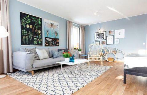 Mở rộng không gian nhà bằng cách chọn màu sơn phù hợp